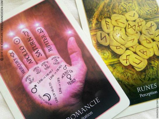 Review de l'Oracle Divination des Temps Anciens - EdenFlow - Votre communauté spirituelle et de développement personnel. Spiritualité, bien-être, Méditation, Mythologie, Anges, Archanges, Animaux Totems, Astrologie, Numérologie, Tarot, Oracle, Runes, arts divinatoires, Quiz, review, test de personnalité, Jeux de connaissance de soi, Druide et Chamane, Pagan, Wicca, Féminin Sacré..