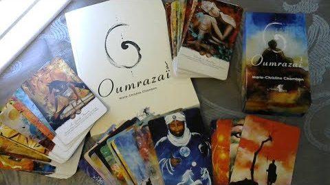Oumrazaï, Un Tarot-Oracle et un livre vibrants