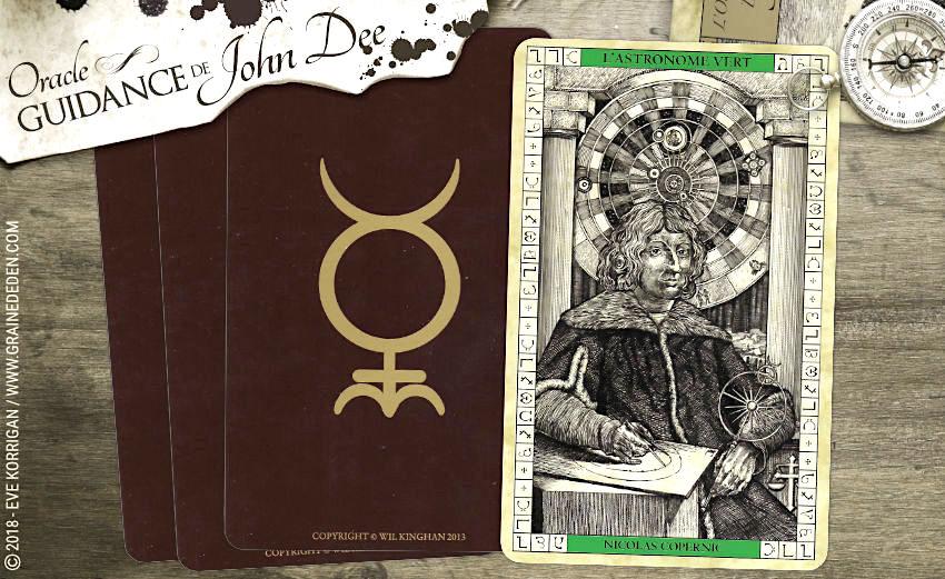 Guidance de John Dee : Qu'avez-vous besoin d'explorer ? Avec L'Oracle du Dr John Dee - EdenFlow - Votre communauté spirituelle et de développement personnel. Spiritualité, bien-être, Méditation, Mythologie, Anges, Archanges, Animaux Totems, Astrologie, Numérologie, Tarot, Oracle, Runes, arts divinatoires, Quiz, review, test de personnalité, Jeux de connaissance de soi, Druide et Chamane, Pagan, Wicca, Féminin Sacré..