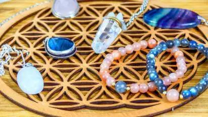 Cristaux - bijoux