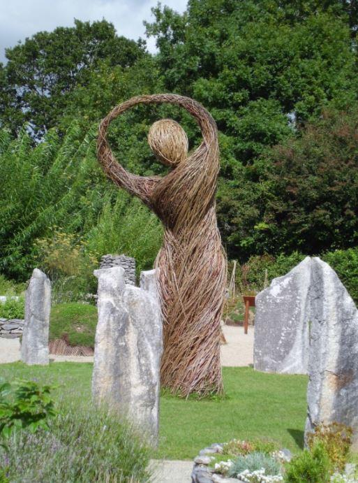 Un jardin dédié à la déesse Brigit